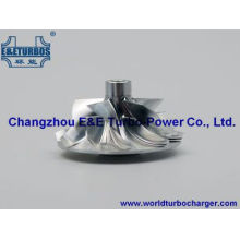 K04 Billet/MFS /Milled Aluminum Compressor Wheel