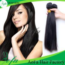 Натуральный черный бразильского Виргинские человеческих волос парики для уток