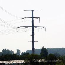 Ligne de transmission de puissance Monopole Tower
