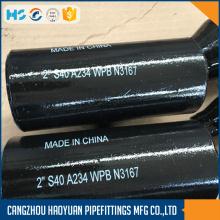 Reducing Tee Unequal Tee Steel Pipe Fittings