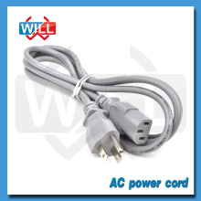 EE.UU. 125V 5A enchufe Cable de alimentación con SJT 18AWG