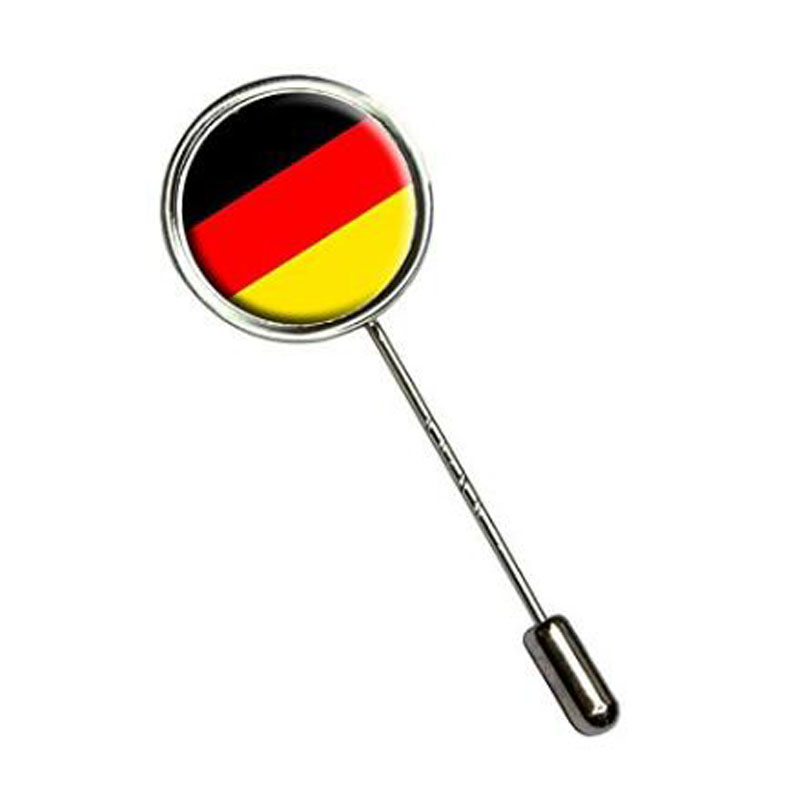Germany Country Stick Hat Brooch Pin