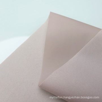 Factory Price PVC Coated 75D*190T  Polyester Brushed Fabric For Inflatable Products Mattress Bags