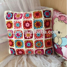 Hot Sale Cute Owl Pattern Design Printing Crochet Cushion