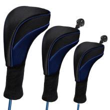 Headcover de golfe de design novo e luxuoso para motorista