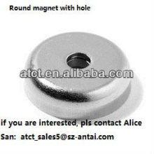 Rundmagnete mit Löchern, Seltenerd-Magneten