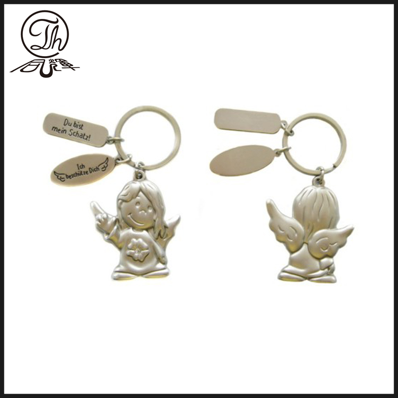 Alloy personalized metal keychains