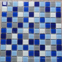 Mosaïque de piscine, mosaïque murale, mosaïque en cristal (HSP301)