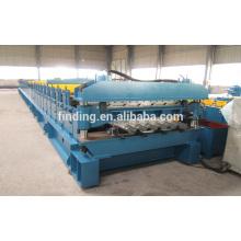 plancher double couche rouleau/plancher decking rouleau/plancher decking machine de roulement du pont