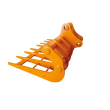 Excavator Rake from Leading Edge Attachments