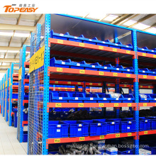 spray type heavy duty 5 tier storage racking