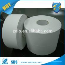 Обычная широкая пустая деструктивная винтовая бумага для яиц с ярлыком для принтера зебры