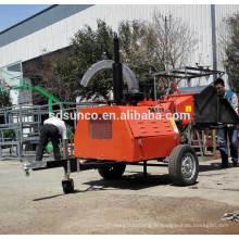 Machine de broyeur de bois de moteur diesel de 40hp