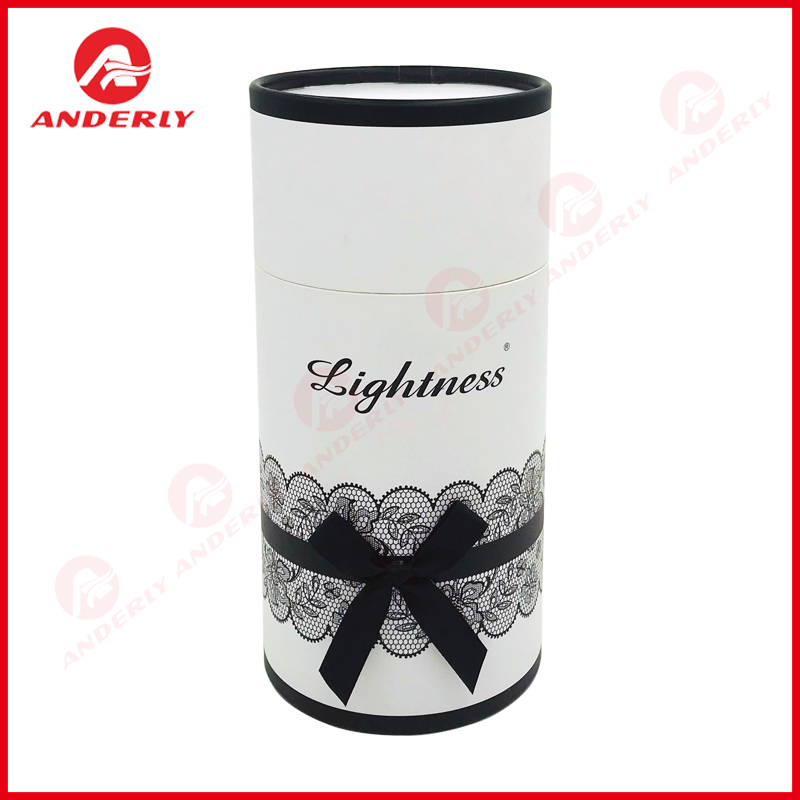 Cylinder Paper Packaging For Gift