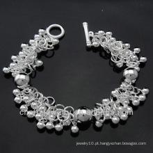 Venda quente preço de fábrica 925 pulseira de prata para as mulheres BSS-013