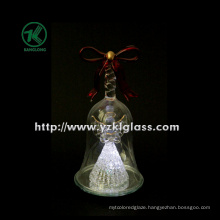 Glass Angle in Bell for Home Decoration