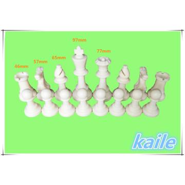 Schachfiguren aus Kunststoff Schachfiguren