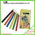 12PCS Promotion 7 Inch Colour Wood Pencil Set with Ruler, Sharpener, Eraser in Paper Tube (EP-P9077)