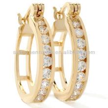 Gold Ohrringe für Frauen Schmuck