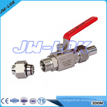 10000 psig stainless steel high quality ball valve