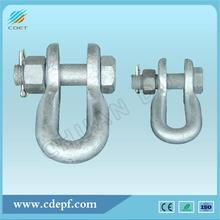 Reliable for Link Fitting,Link Fitting For Substation,Connecting Fitting,Link Fitting For Power Plant Manufacturers and Suppliers in China Shackle with Clevis Pin for Overhead Line supply to Sudan Wholesale