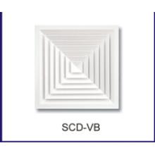 HVAC алюминиевые кольца Потолочный диффузор воздуха