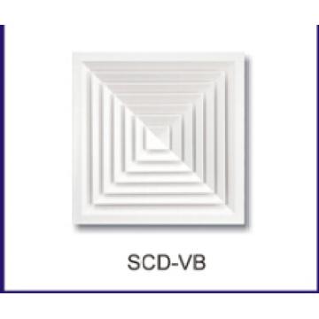 difusor de ar do teto para sistemas HVAC