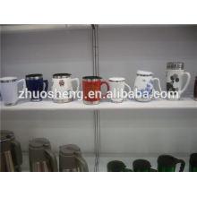 Novedades en mercado personalizadas baratas tazas de cerámica, taza de cerámica de pintura