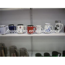 latest products in market personalized cheap ceramic mugs, painting ceramic mug