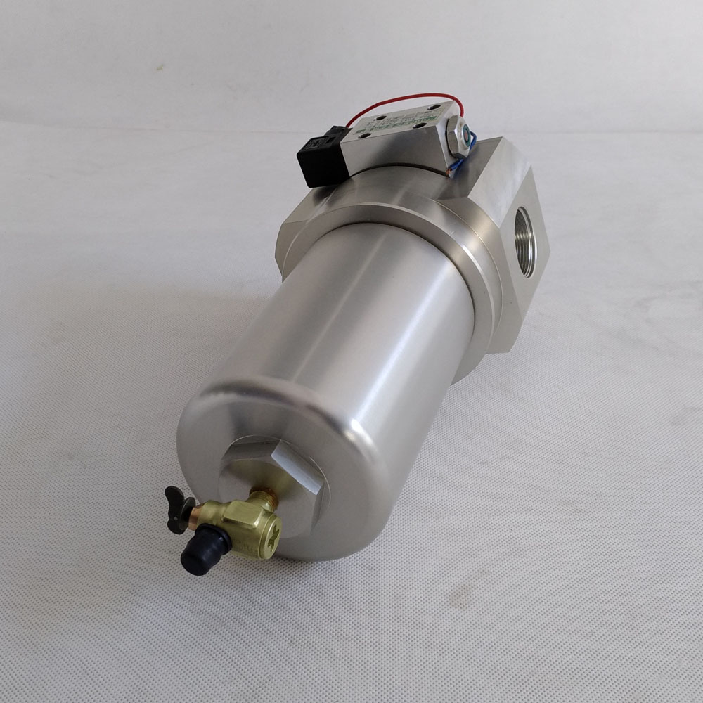 low pressure fuel filter housing