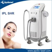Rejuvenescimento da pele / remoção do cabelo / equipamento da beleza de IPL Shr do tratamento do pigmento