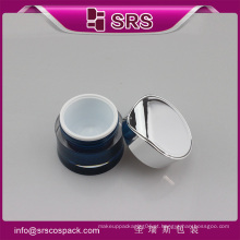 J093 frasco de creme skincare vazio, 30g frasco de creme acrílico de luxo 50g