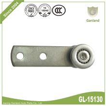 All Steel Curtainside Ball Bearing Roller With Shank