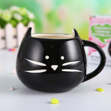 Cute Appearance Cat Shaped Mug