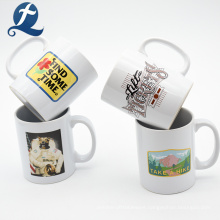 Custom cheap ceramic travel drinkware water coffee mug cup