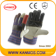 Rainbow Muebles de cuero guantes de trabajo de seguridad industrial (310011)