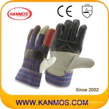 Рабочие перчатки безопасности рабочей одежды из кожи радуги (310011)