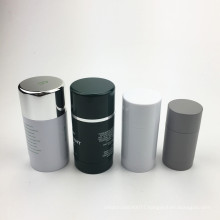 50g Bottom Filling Manufacturers Packaging Stick Round Mini Empty Plastic Deodorant Container For Sale
