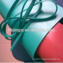 Feuille en plastique souple de PVC