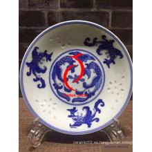Plato de porcelana El mejor regalo promocional