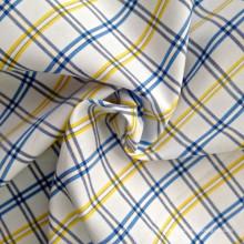 Hilado de algodón teñido de tela (QF13-0219)