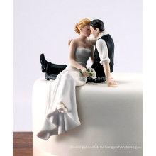 Свадебные Украшения Смолы Фигурка Свадебный Торт Топпер Торт Украшение