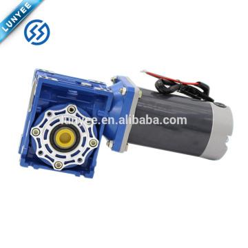 12v/24v 120W positive and negative deceleration speed worm gear motor
