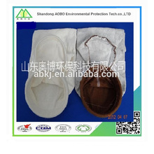 High quality non woven needle felt pps+PTFE dust filter bag for dust collector