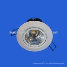 Nouvelle cob10w / 6w led down lights plafonniers décoratifs