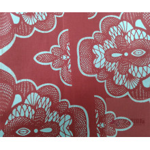 Klassisk Textil Wax Printed Fabric