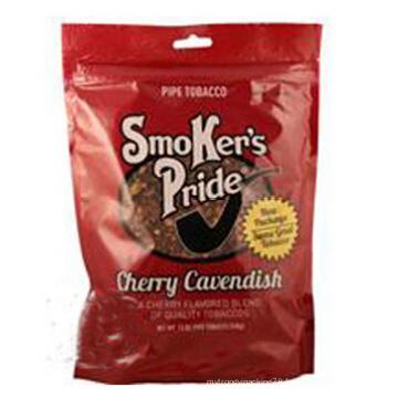 Sac d'emballage de tabac debout, sac de tabac refermable