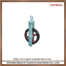 Кабельный проводник натягивая шкив