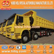 SINOTRUK 8X4 40tons Dump LKW 380hp mit hoher Leistung heißer Verkauf exportiert nach Afrika