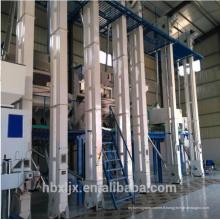 Usine industrielle industrielle de traitement de riz grande ligne complète usine de moulin à riz